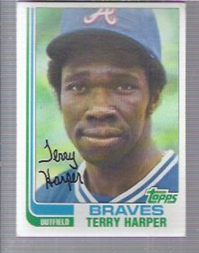 Photo of 1982 Topps #507 Terry Harper