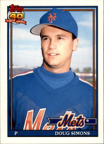 Photo of 1991 Topps Traded #109T Doug Simons RC