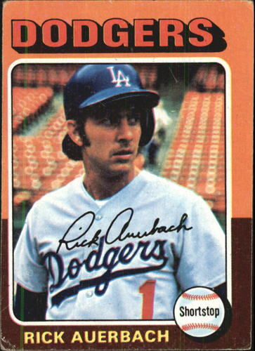Photo of 1975 Topps #588 Rick Auerbach