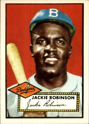 Photo of 1983 Topps 1952 Reprint #312 Jackie Robinson
