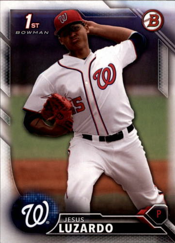 Photo of 2016 Bowman Draft #BD59 Jesus Luzardo -- Ranked #60 of MLB's Top 100 Prospects