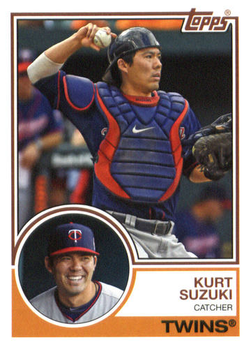 Photo of 2015 Topps Archives #219 Kurt Suzuki
