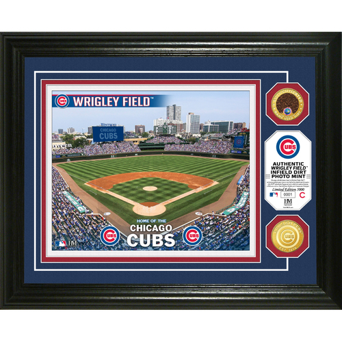Photo of Serial #1! Chicago Cubs Dirt Coin Photo Mint