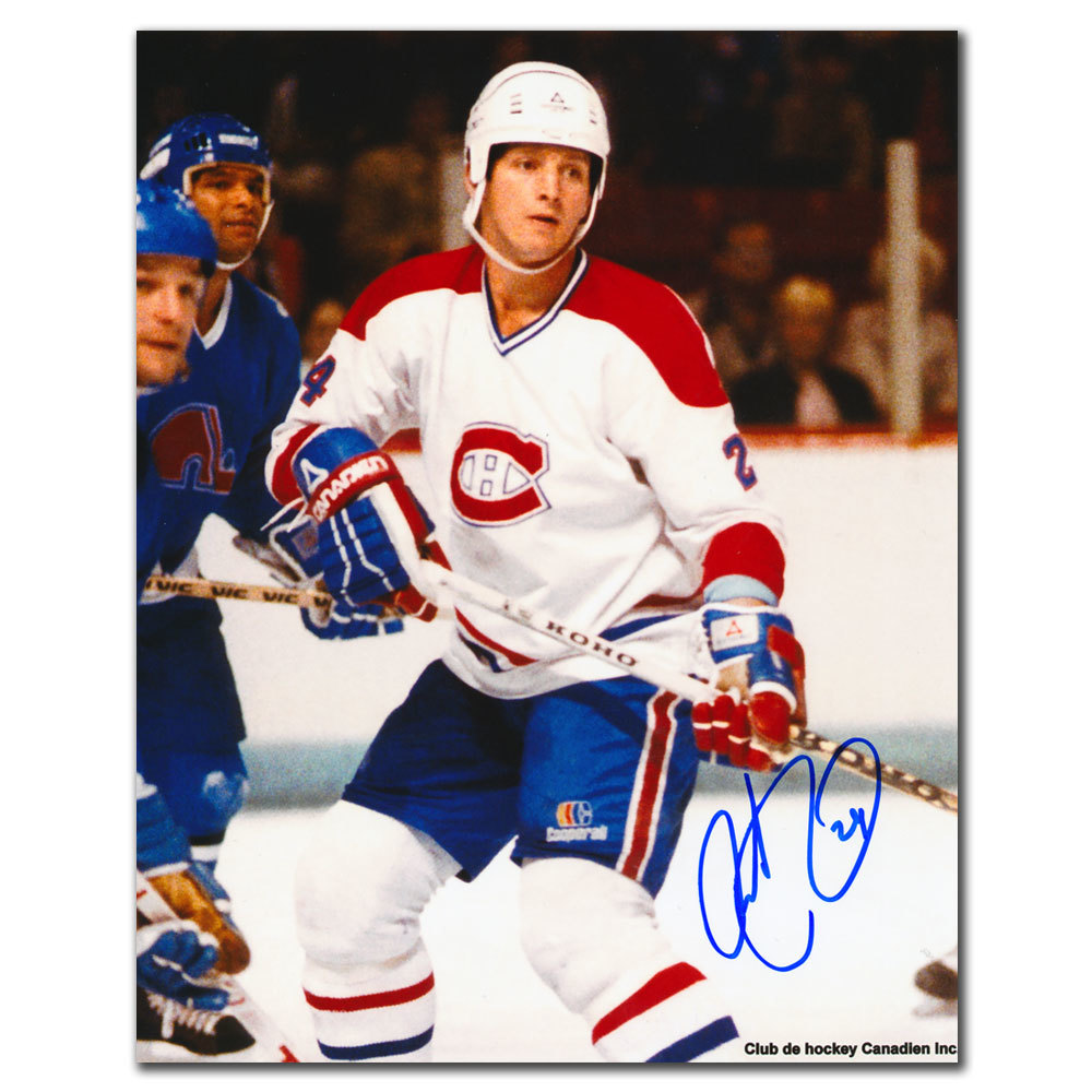 Robert Picard Montreal Canadiens Autographed 8x10