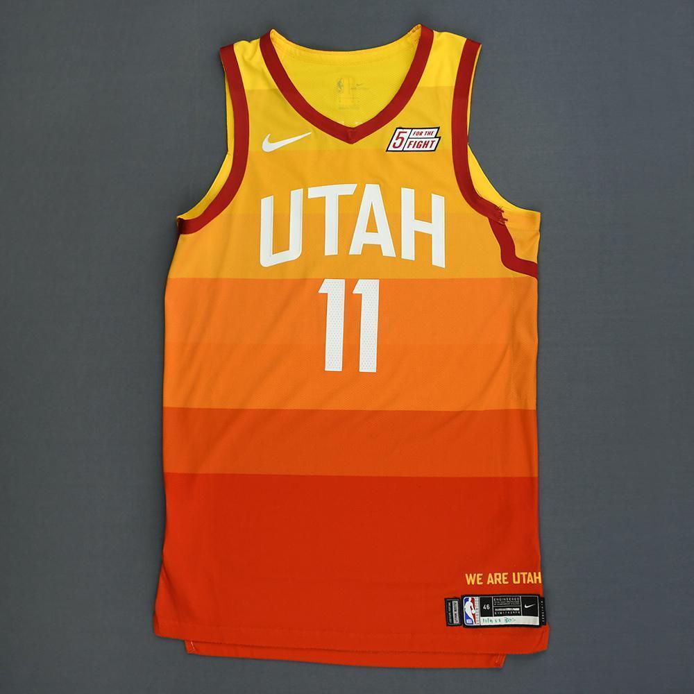 cheap for discount dc001 38d27 Dante Exum - Utah Jazz - Game-Worn City Edition Jersey ...
