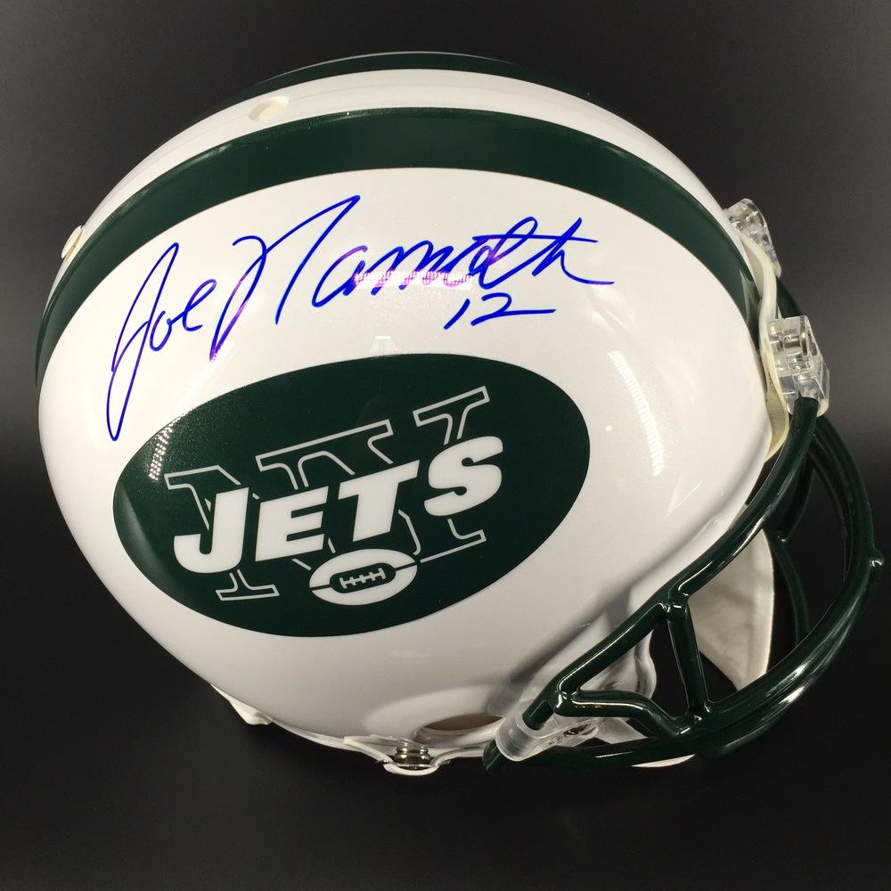 HOF - Jets Joe Namath Signed Proline Helmet
