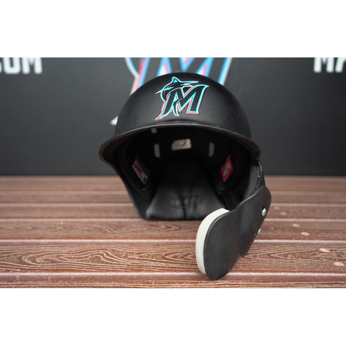 Photo of Game-Used Helmet: Chad Wallach - Size 7 1/4