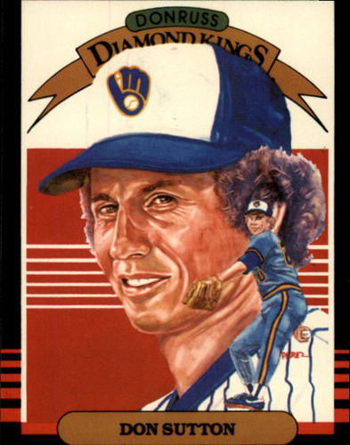 Photo of 1985 Donruss #16 Don Sutton DK