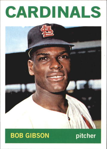 Photo of 2011 Topps 60 Years of Topps #13 Bob Gibson