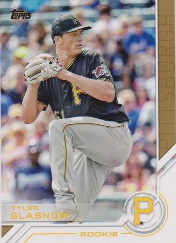 Photo of 2017 Topps Salute #S29 Tyler Glasnow