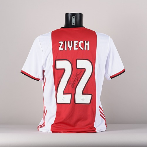 Photo of A signed  Hakim Ziyech's  AFC Ajax jersey