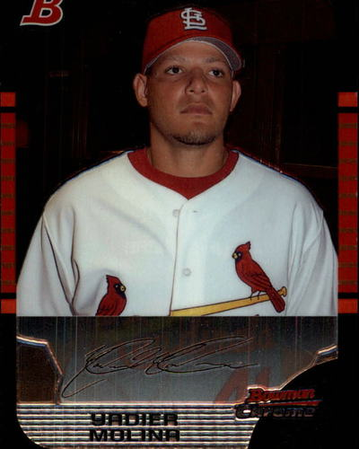 Photo of 2005 Bowman Chrome Draft #17 Yadier Molina