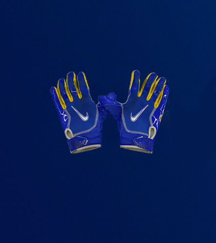 Photo of Cooper Kupp Game Used Gloves - (10/18/2020 VS. San Francisco 49ers)