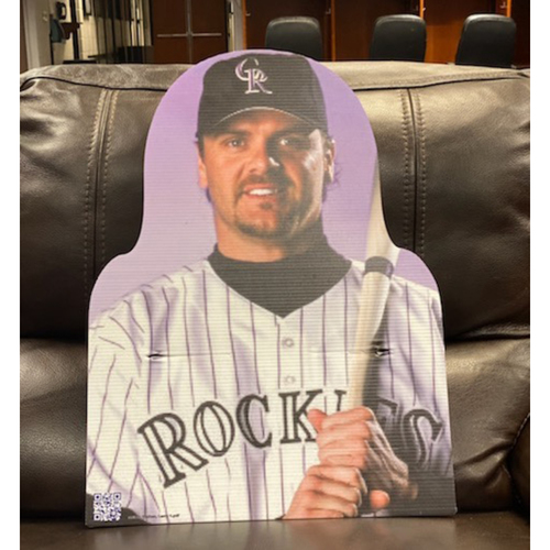 Photo of Colorado Rockies Foundation: Larry Walker 2020 Cardboard Cutout