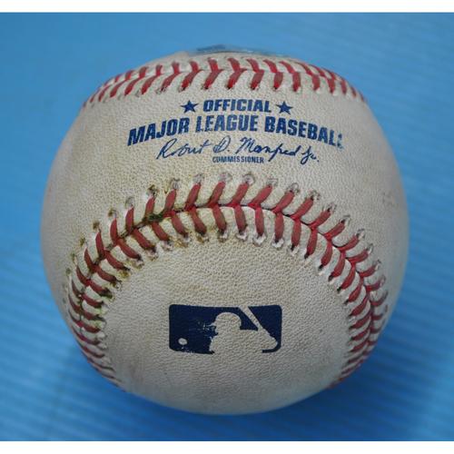 Game-Used Baseball - CWS at PIT - Game 1 - 9/18/2020 - Pitcher - Carlos Martinez (STL), Batter - Ke'Bryan Hayes, Bot 4, Single