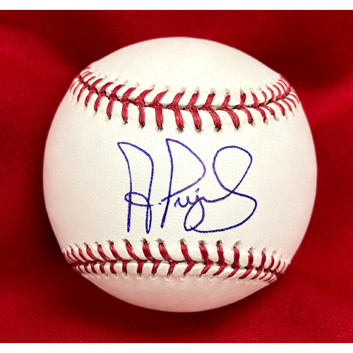 Photo of Albert Pujols Autographed Baseball