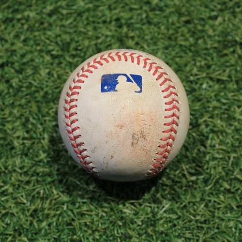 Game-Used Baseball: Tyler Chatwood 618th Career Strikeout (CHC @ KC 8/6/20)