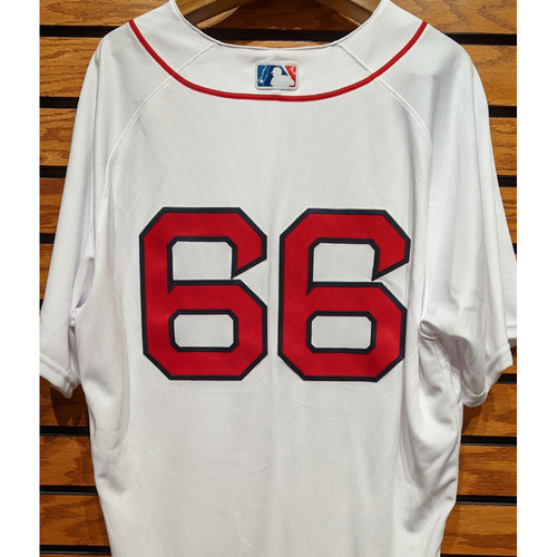 Photo of #66 Team Issued Home White Jersey