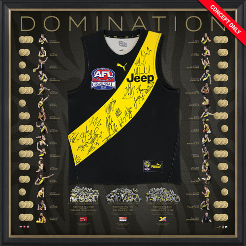 Photo of Richmond 2017/19/20 Premiership Dynasty Team Signed Guernsey - Edition #9