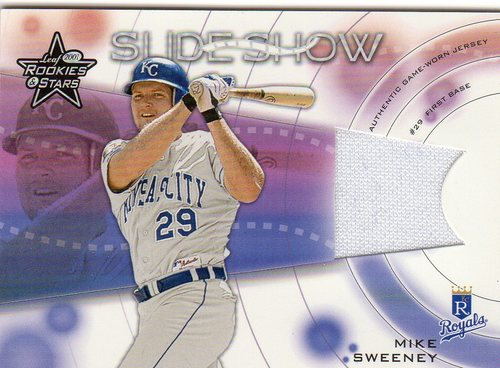 Photo of 2001 Leaf Rookies and Stars Slideshow #S23 Mike Sweeney