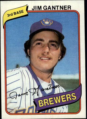 Photo of 1980 Topps #374 Jim Gantner