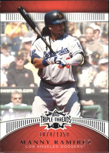 Photo of 2010 Topps Triple Threads #73 Manny Ramirez