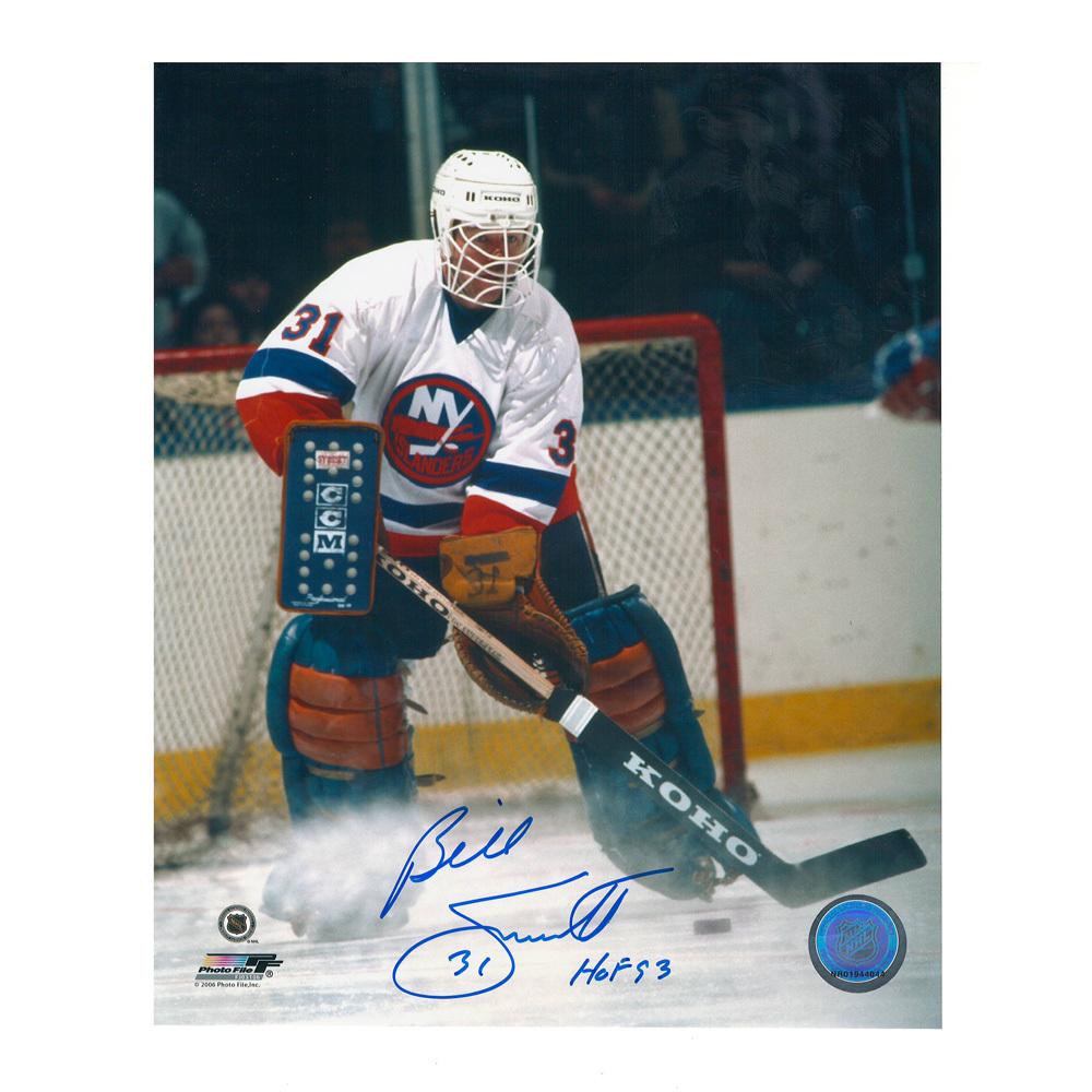 BILLY SMITH Signed New York Islanders 8 X 10 Photo - 70147