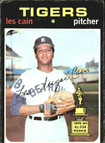 Photo of 1971 Topps #101 Les Cain