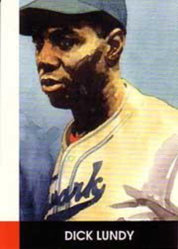 1990 Negro League Stars #25 Dick Lundy