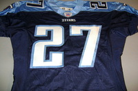 TITANS - AUTHENTIC TITANS JERSEY - SIZE 46