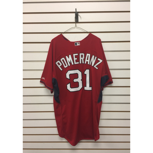 Drew Pomeranz Team-Issued Home Batting Practice Jersey