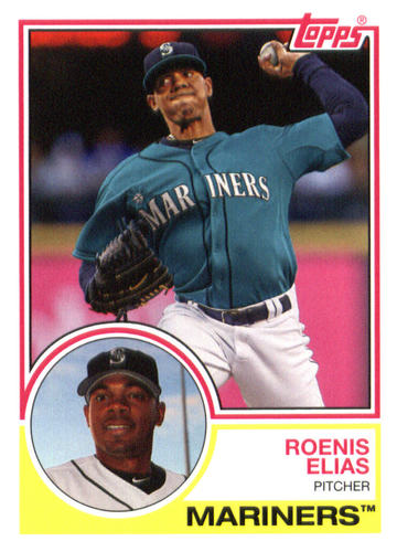 Photo of 2015 Topps Archives #222 Roenis Elias