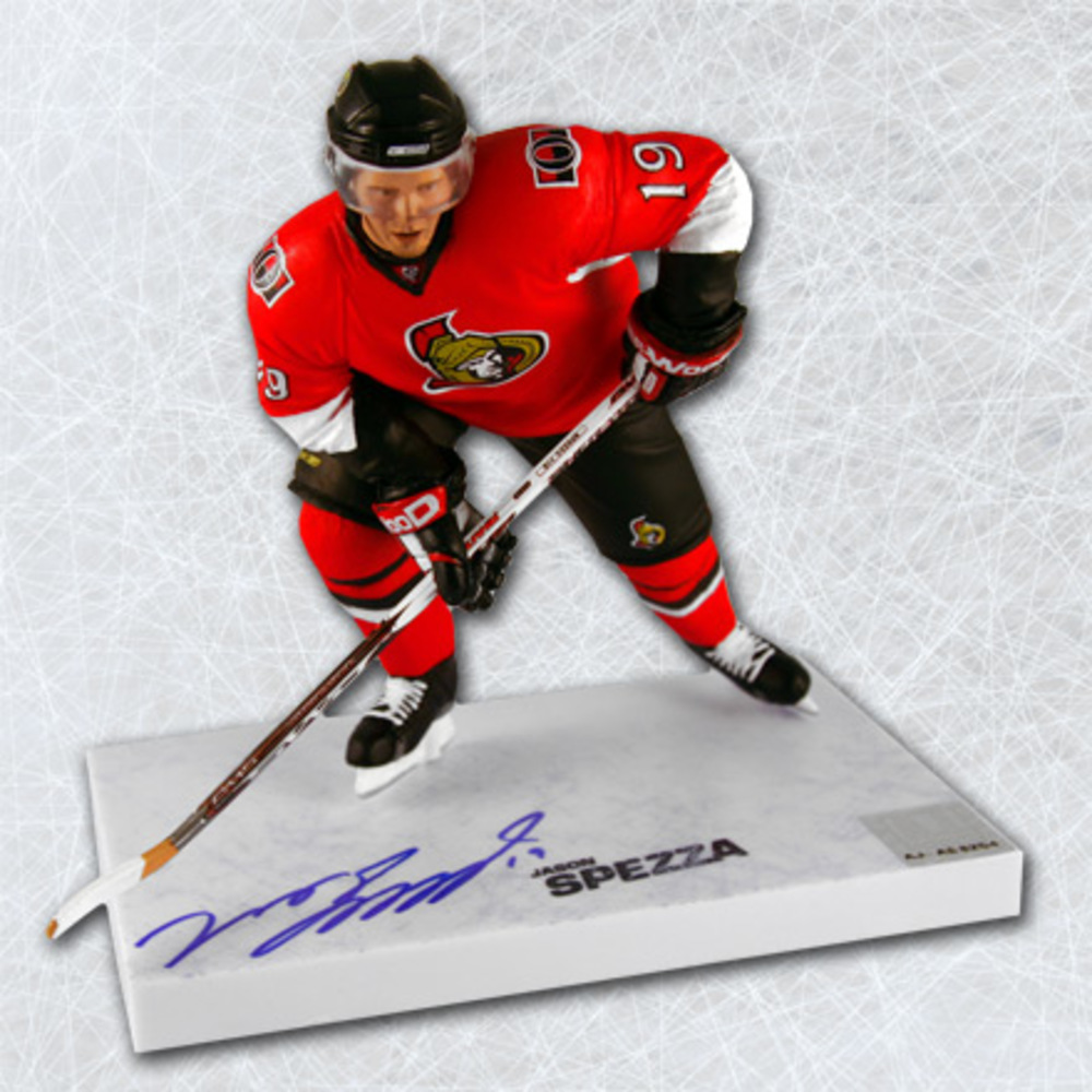 Jason Spezza Ottawa Senators Autographed McFarlane Sports Picks Figure