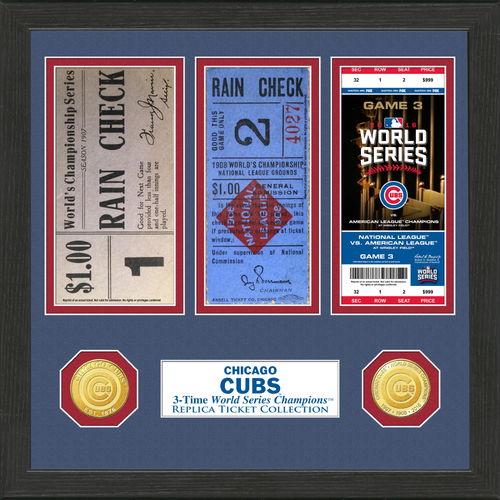 Photo of Chicago Cubs World Series Ticket Collection