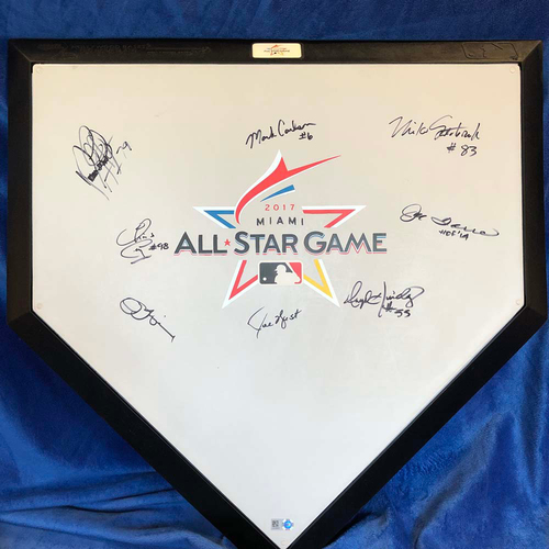 Photo of UMPS CARE AUCTION: 2017 MLB All-Star Game Signed Home Plate