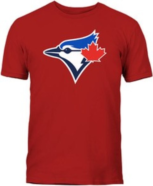 Toronto Blue Jays Secondary Logo Red T-Shirt by Bulletin