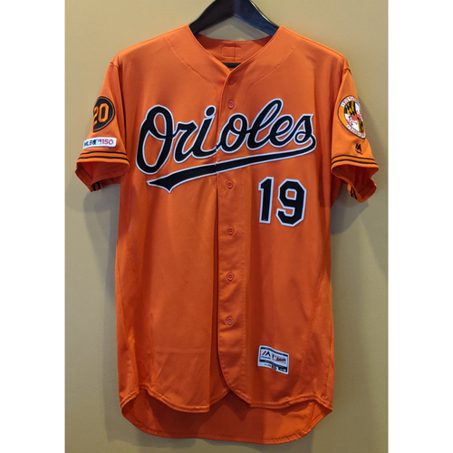 Photo of Chris Davis - Orange Alternate Jersey: Game-Used