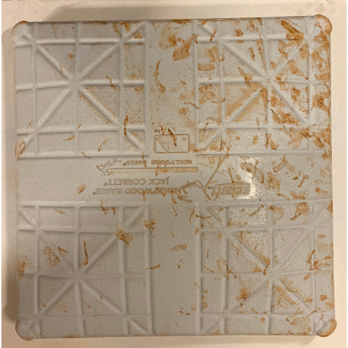 Photo of 2019 NLDS Game Used Base - First Base Used During 2nd Inning - 10/3/19