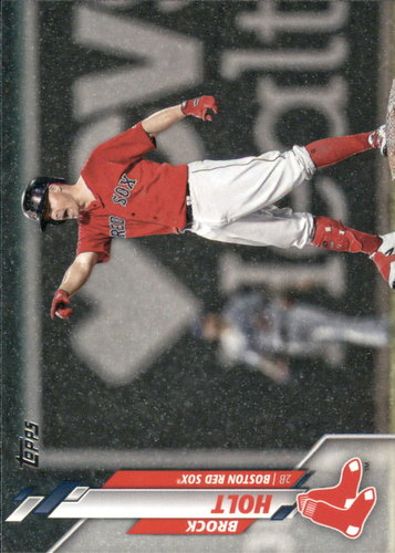 Photo of 2020 Topps #90 Brock Holt
