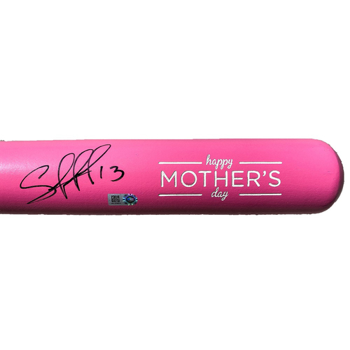 Photo of Autographed Mother's Day Bat: Salvador Perez