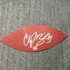 Broncos - Champ Bailey Signed Authentic Panel