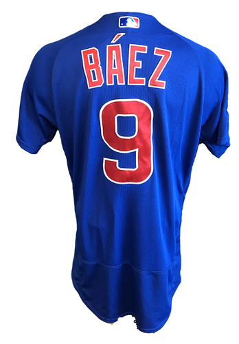 Photo of Javier Baez Team-Issued Jersey -- 2020 Season -- Size 42