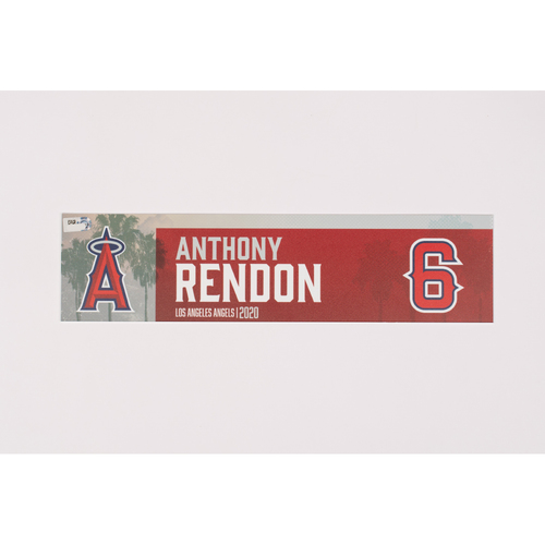 Photo of Anthony Rendon 2020 Team Issued Locker Tag