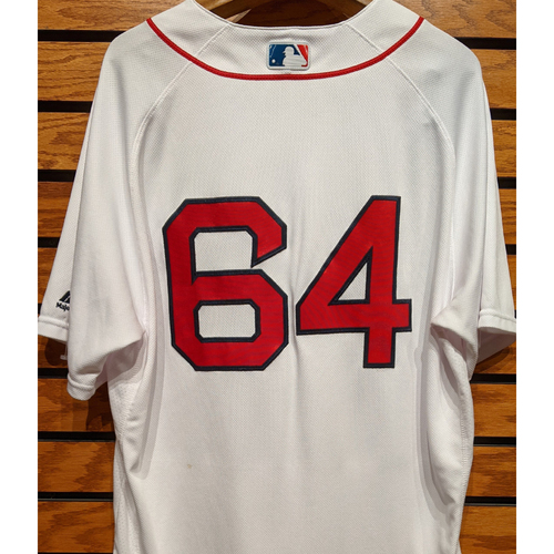 Photo of Marcus Walden #64 Team Issued Home White Jersey