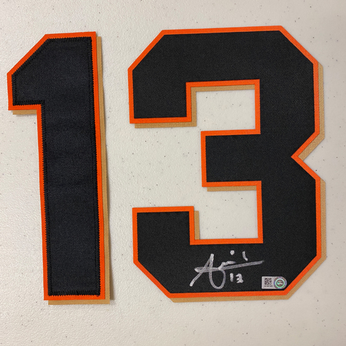 Photo of #13 Joaquin Arias Autographed Number (*No Jersey Included* JERSEY NUMBERS ONLY)