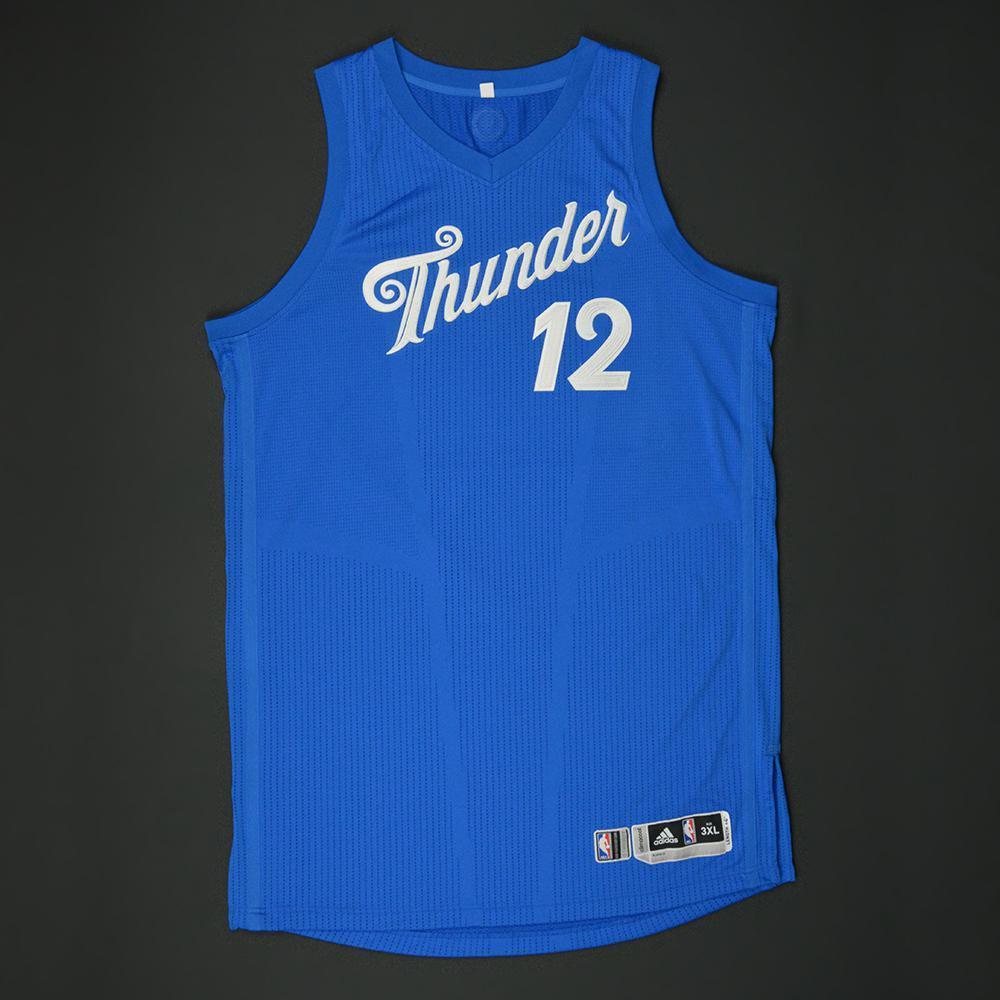 outlet store 408e5 adc66 Steven Adams - Oklahoma City Thunder - NBA Christmas Day '16 ...