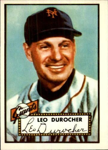 Photo of 1983 Topps 1952 Reprint #315 Leo Durocher MG
