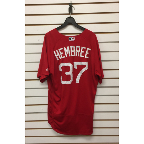 Photo of Heath Hembree Team-Issued 2017 Spring Training Jersey