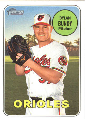Photo of 2018 Topps Heritage #347 Dylan Bundy