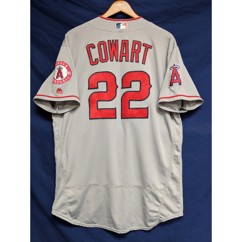 Photo of Kaleb Cowart Game-Used Road Jersey